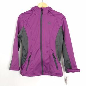 Reebok Super Softshell Jacket Purple 14/16 New